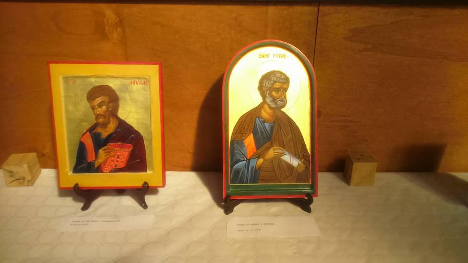 Apotres st  Pierre  et  St  Luc