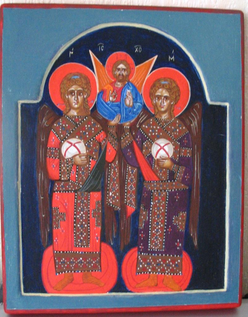Icone de la Synaxe des Archanges